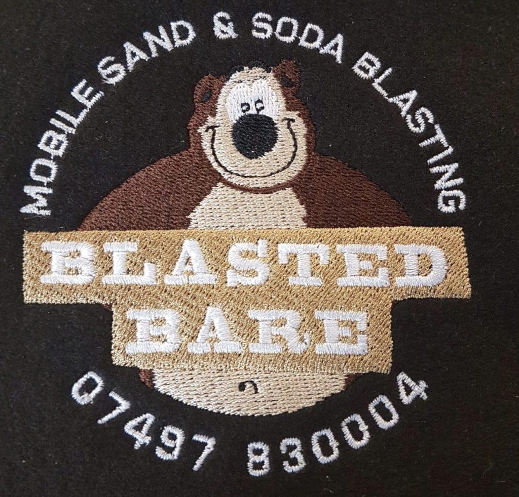 Blasted Bare Logo