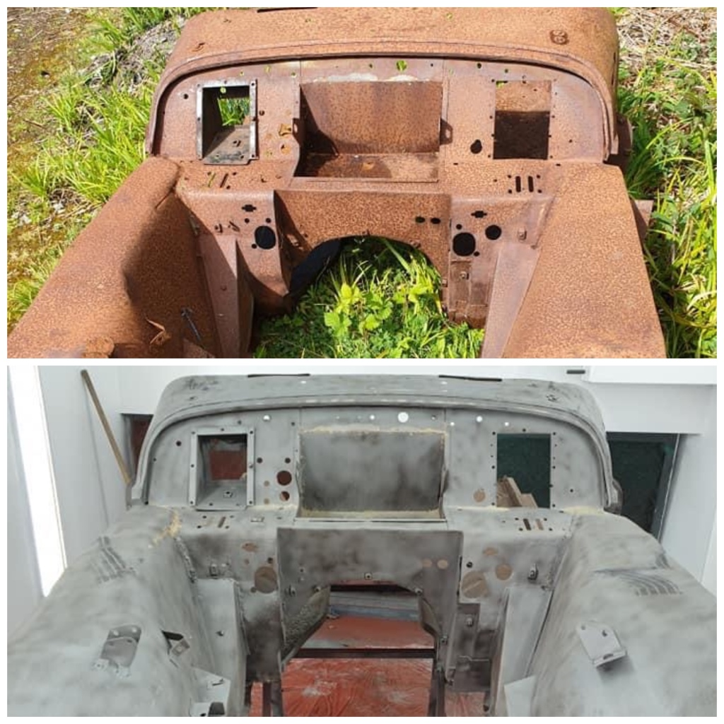 TR2A Body Shell