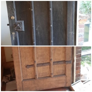 16th Century Oak Door