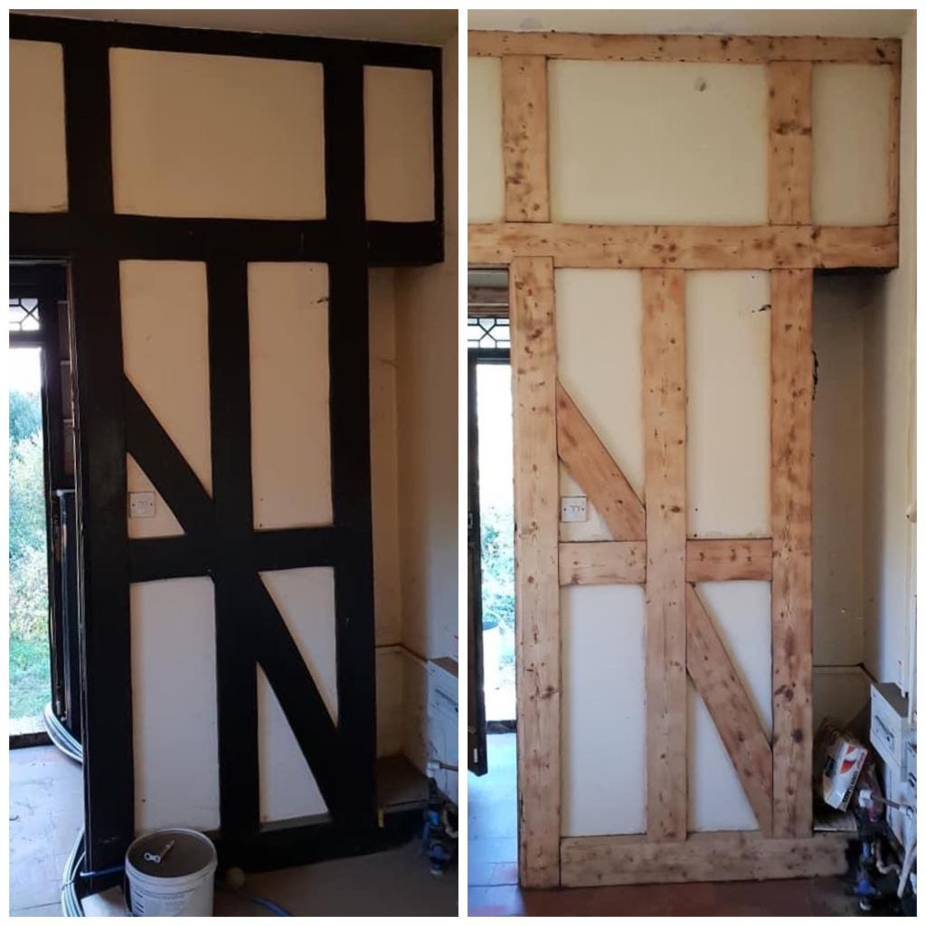 Soft Wood internal paneling