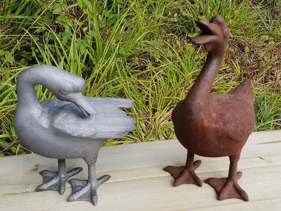Cast Iron Ducks