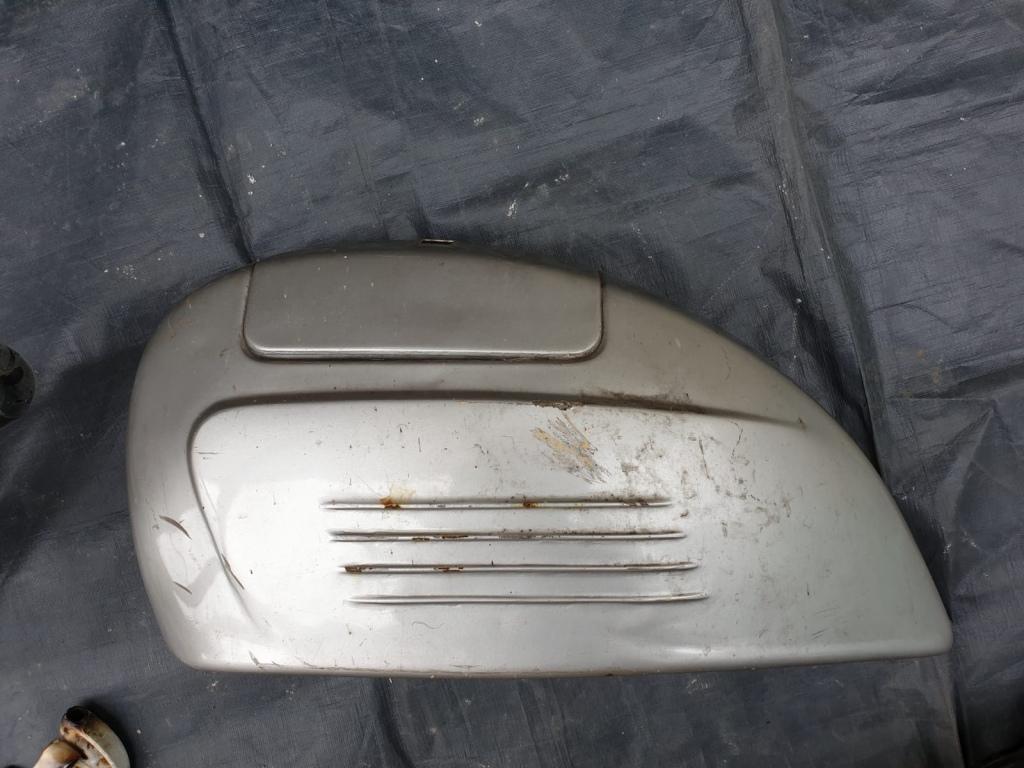 Vespa Engine Cover