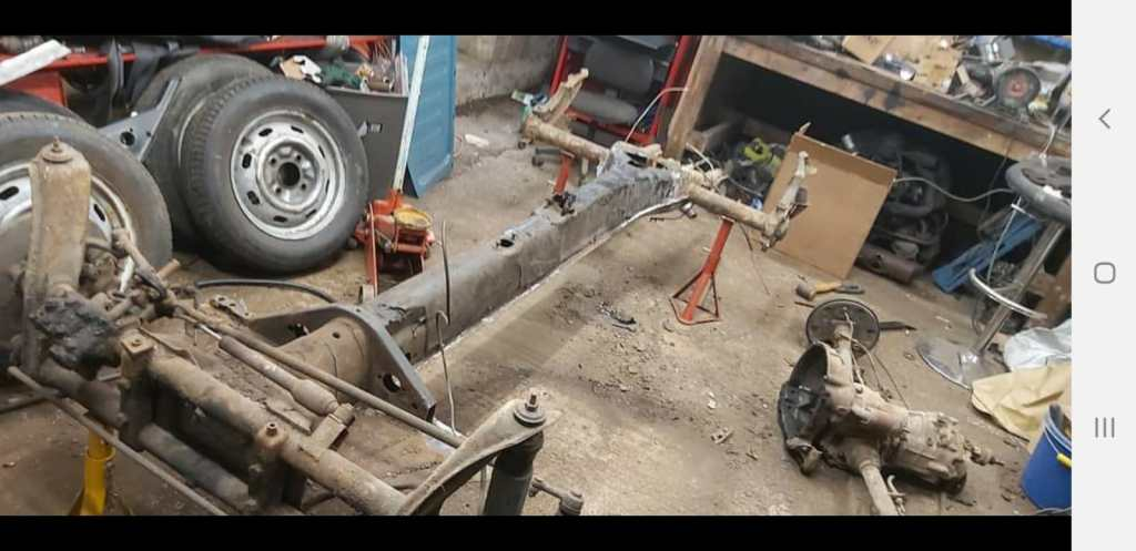 VW Beetle Chassis